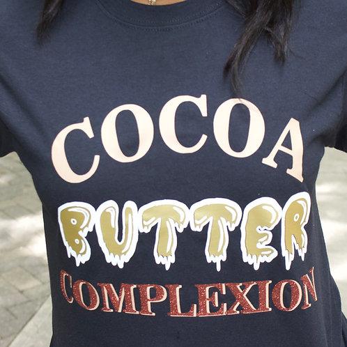 Cocoa butter complexion