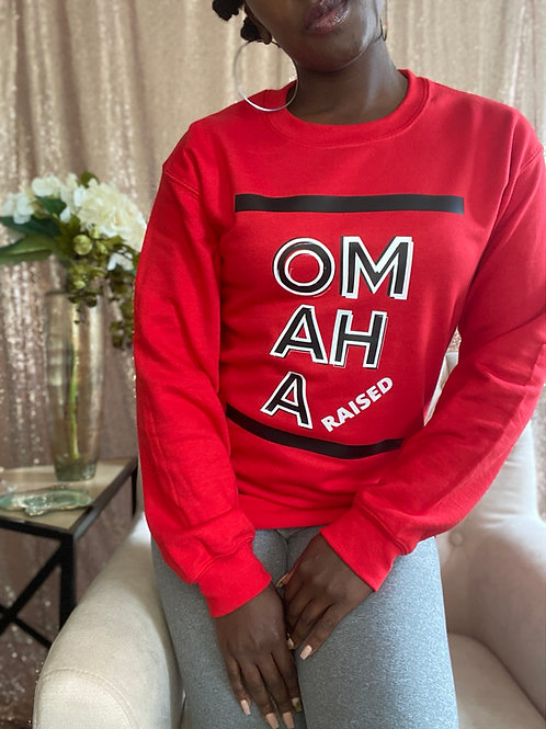 Omaha raised sweatshirt