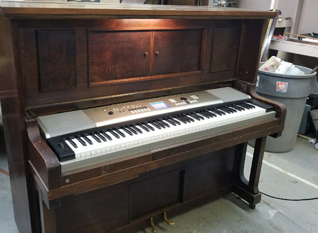 Digital Piano Conversion