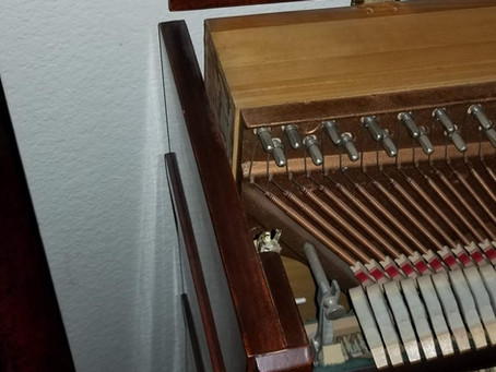 Piano Cabinet Repairs