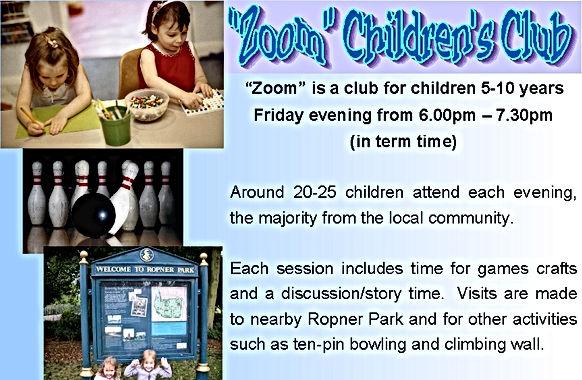 Zoom Childrens Club YR