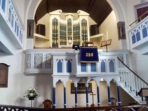 Inside Yarm Methodist Church