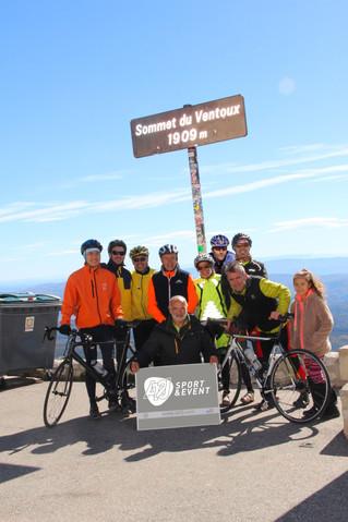 Défi et team-building réussis sur le Mont Ventoux pour AT2J Sport & Event