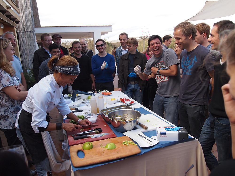Atelier culinaire - Team-building gastronomique
