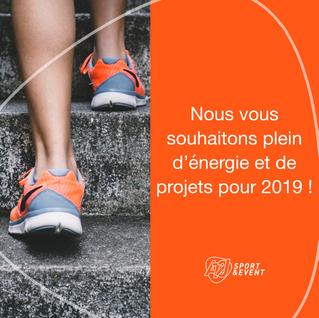 Meilleurs vœux pour 2019 !