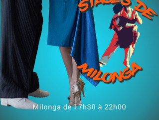 stages de milonga & milonga à Clichy