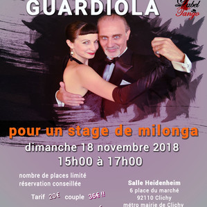 Stage de milonga avec Los Guardiola