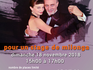 Stage de milonga avec Los Guardiola