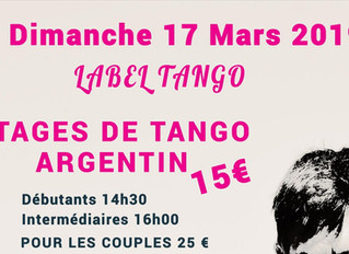 stages de tango argentin & milonga