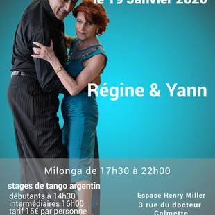 super stage de tango argentin & milonga à Clichy