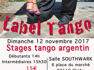 les stages & milonga label tango