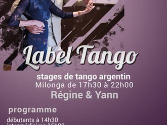 stages & milonga de Clichy