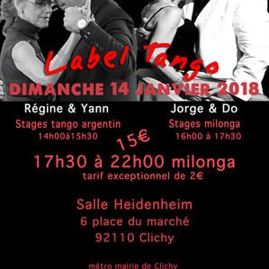 stages tango argentin & milonga
