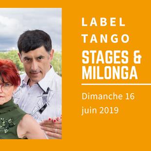Stages de tango argentin et milonga à Clichy