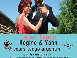 cours du mardi avec labeltango