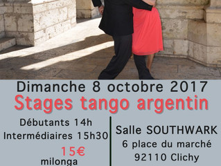 stages & milonga Clichy La Garenne