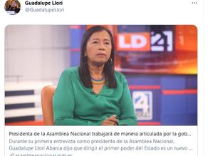 Una mujer amazónica preside una Asamblea Nacional no tan verde