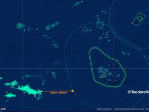 El calentamiento del mar aleja a la flota de China de las islas Galápagos