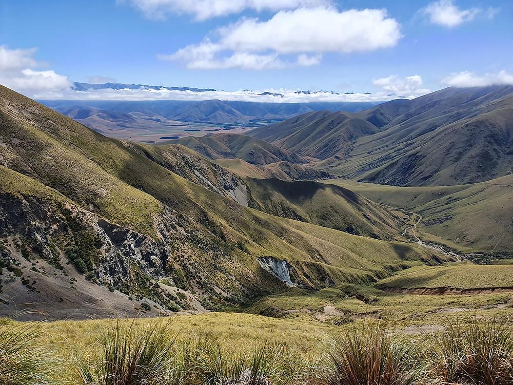 Mountain Range Canterbury