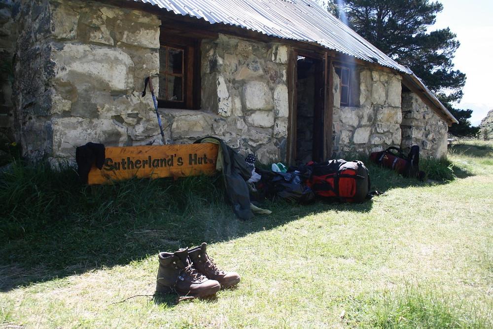 Old musterer hut