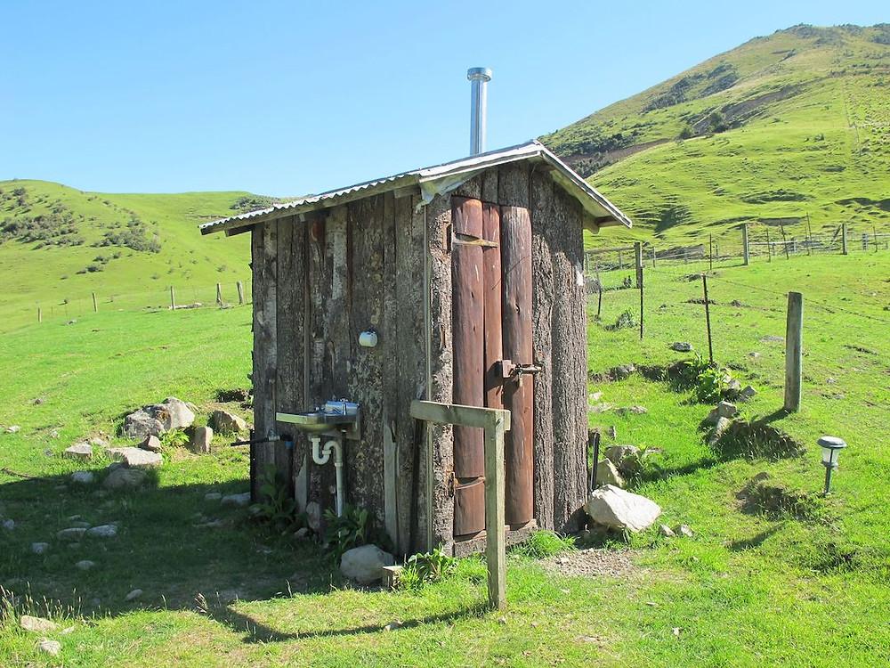 Wooden building Outdoor toilet
