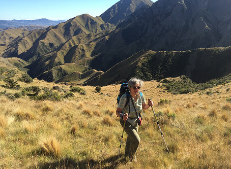Get fit through winter for your first hiking tour