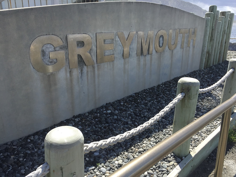 Greymouth City sign