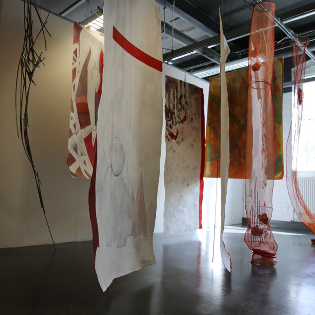 Geometries of the echoes Installation fr