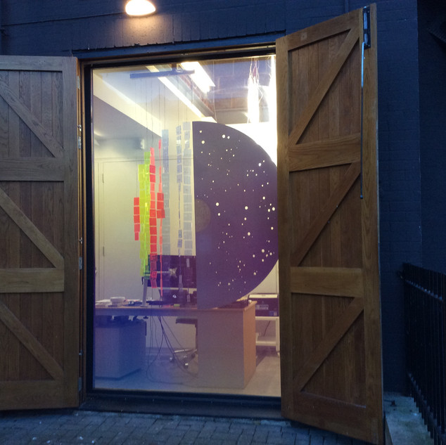 Moon Gate for Stanley Picker Gallery