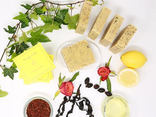 Lemon verbena seaweed soap