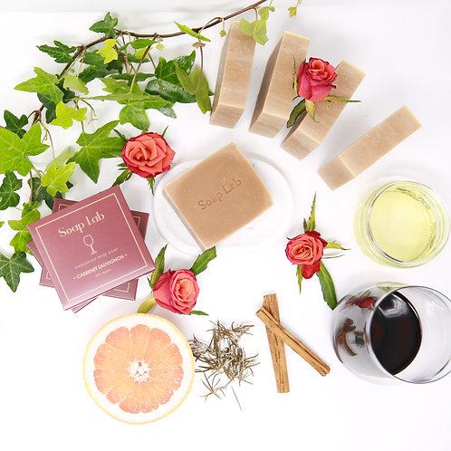 Cabernet Sauvignon wine soap
