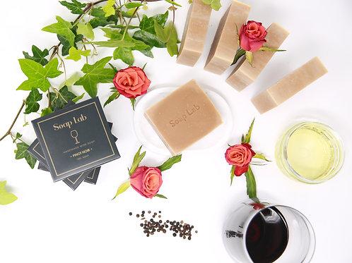 Pinot Noir wine soap
