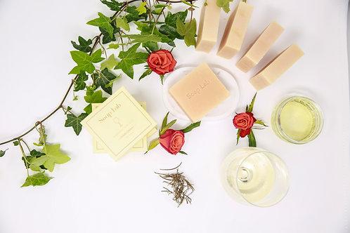 Chardonnay wine soap