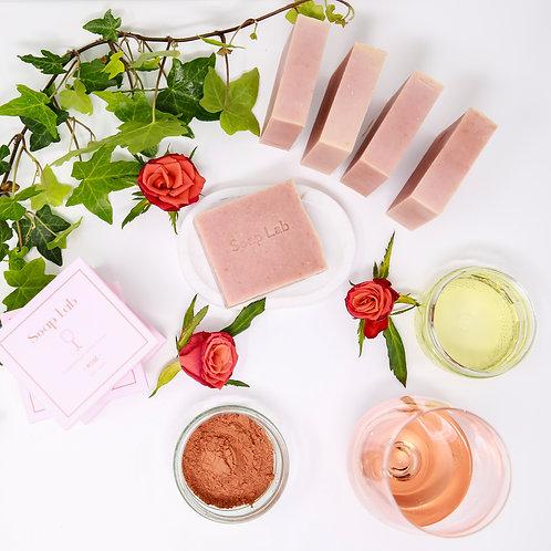 Rosé wine soap