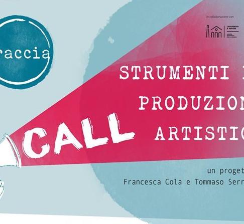 TRACCIA: strumenti di produzione artistica.