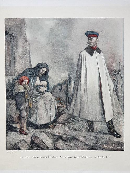 61. Propagandni plakat – Francija I. svetovna vojna