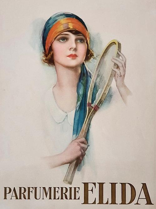 92. Art-deco reklamni plakat Parfumerie Elida