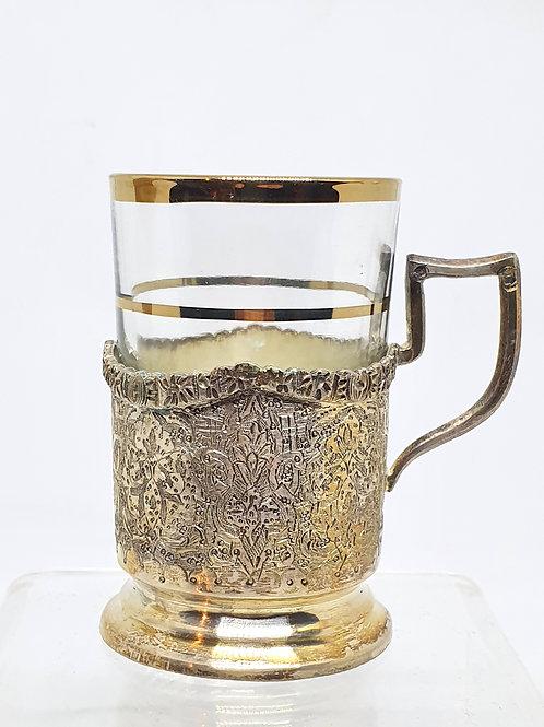 Štirje ruski kozarci/skodelice za čaj
