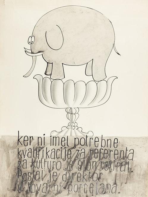 107. Albin »Bine« Rogelj: Slon