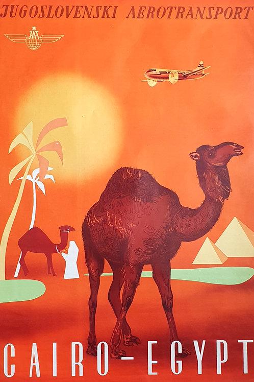 154. Jugoslovenski aerotransport – Cairo – Egypt