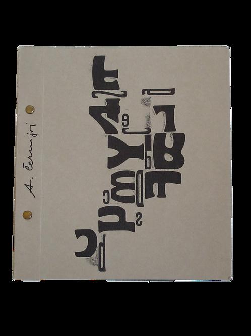 133// Avgust Černigoj, katalog razstave v Civico Museo Revoltella, april–maj 197