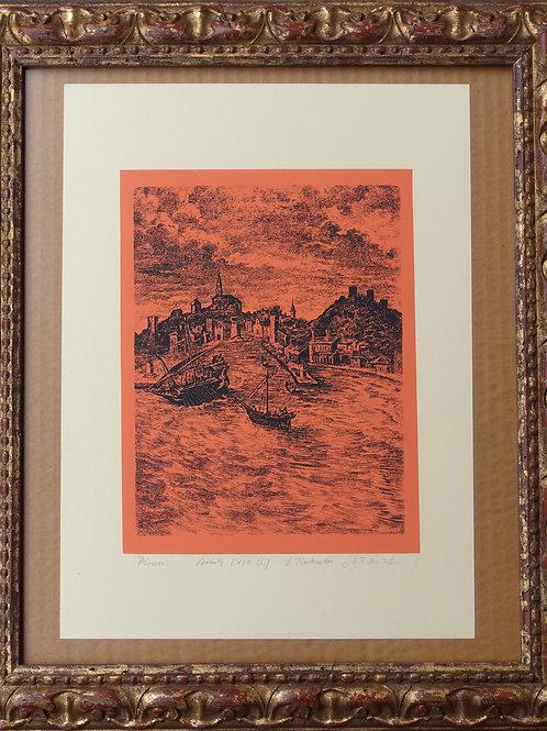 71. Neznani avtor: Piran – Obzidna ulica