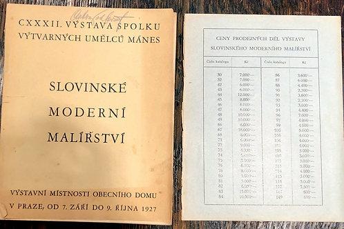 Slovinské moderní malířství (slovensko moderno slikarstvo)