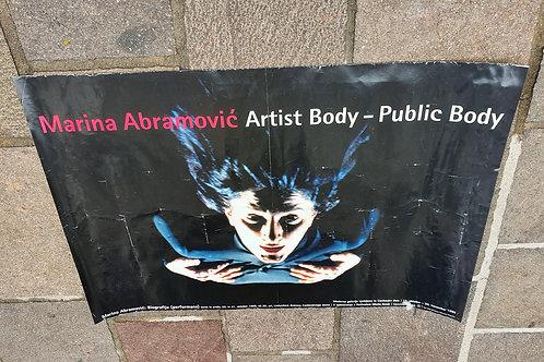 137. Zmago Rus: Marina Abramovič, Artists Body, Public Body