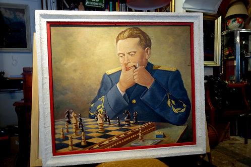 A. Mavrič, Tito igra šah