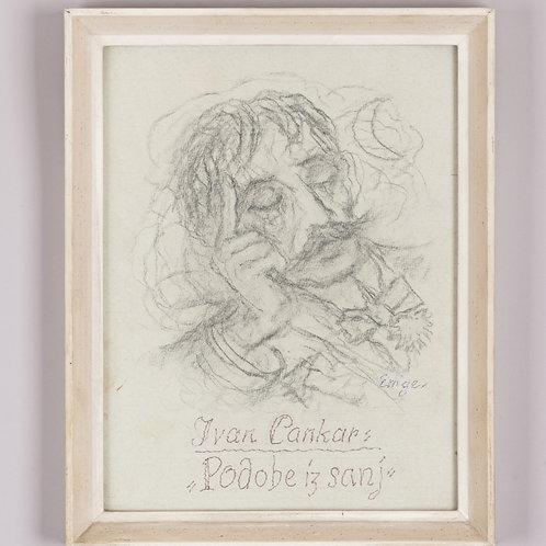 128. Maksim Gaspari: Ivan Cankar (Podobe iz Sanj)