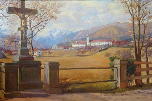 141. Maks Koželj: Uršulinski samostan Mekinje pri Kamniku