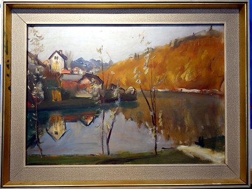 Nikolaj Omersa, Dolenjska kolonija -Novo mesto