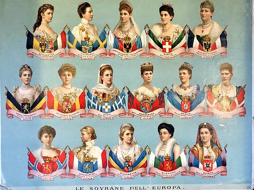 Evropski vladarji in vladarice