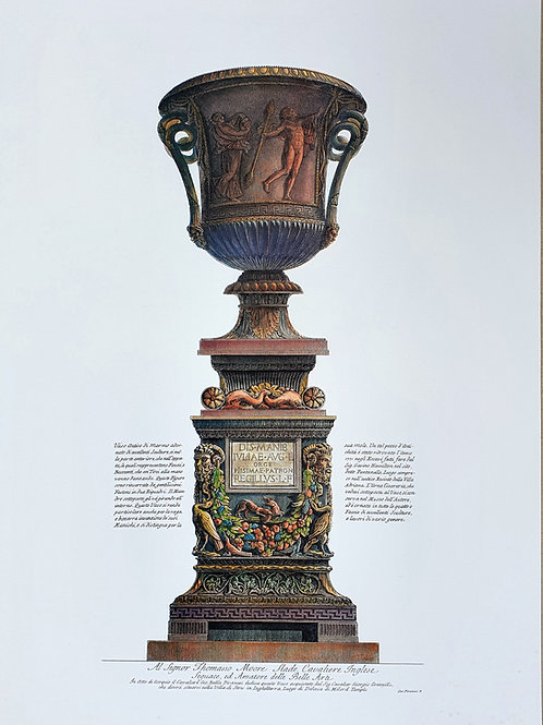 132. Piranesi Giovanni Battista: Antična vaza III.